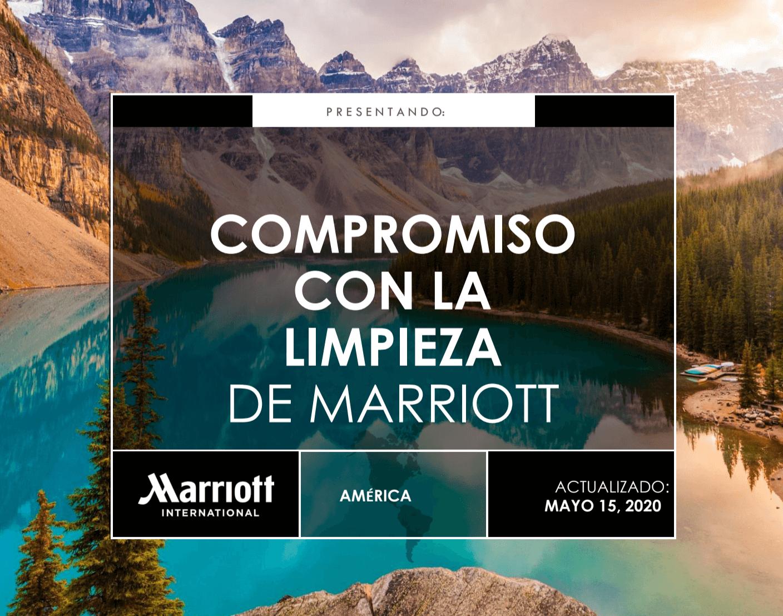 Compromiso con la Limpieza de Marriott